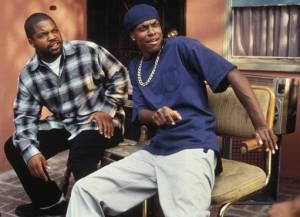 Ice Cube e Chris Tucker no film, Next Friday.