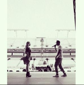 Foto do instagram da cantora @beyonce