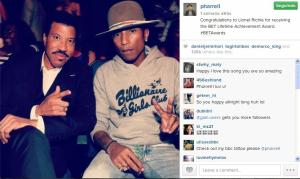 Pharrell E Lionel Richie