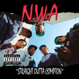 Capa do ábum Straigth outta Compton