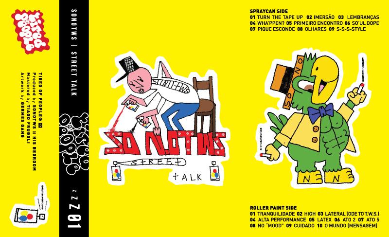 """O produtor Jundiaiense SonoTWS acaba de lançar sua nova tape, """"StreetTalk""""."""
