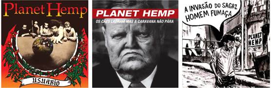 Finalmente a discografia do Planet Hemp chega às plataformasdigitais!