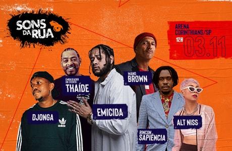 Vem aí a 3ª edição do SONS DA RUA: o evento urbano de maior destaque no cenário do HipHop